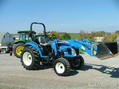 New Holland tc40da, Traktorius, 2005