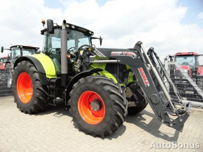 Claas 850 Cebis, 254 PS, Traktorius, 2009