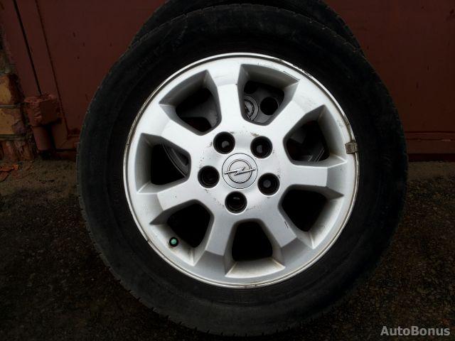 Opel Astra,Zafira lengvojo lydinio ratlankiai