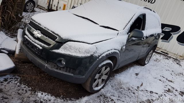 Chevrolet Captiva, Visureigis