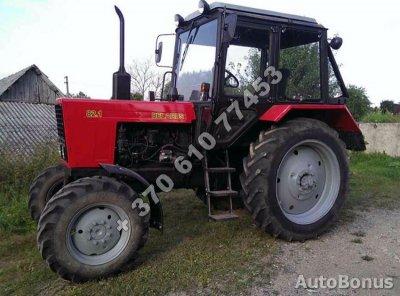 Belarus MTZ-82.1, Traktoriai