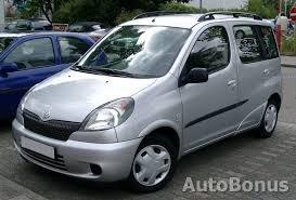 Toyota Yaris Verso, 2001