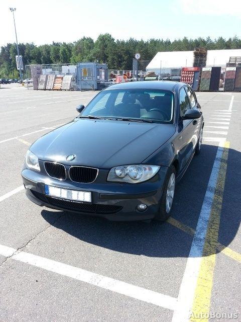 BMW 1 serija, Hečbekas, 2006-09-18
