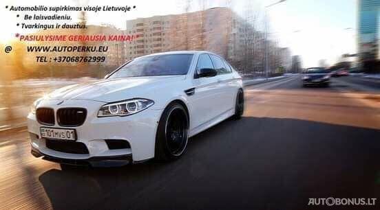 Brangiausias auto supirkimas visoje Lietuvoje