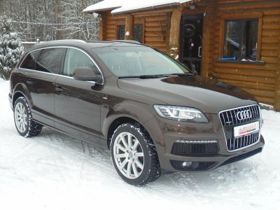 Audi Q7, Visureigis, 2014
