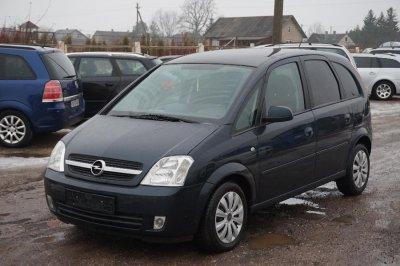 Opel Meriva, Monovolume, 2005-06