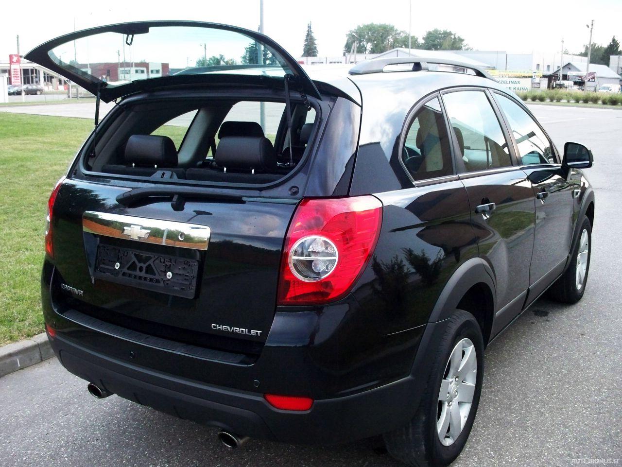 Chevrolet Captiva, Visureigis, 2011-12 | 4