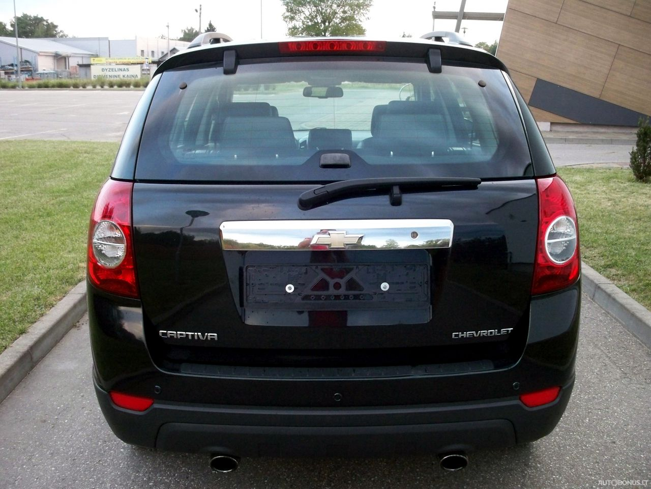 Chevrolet Captiva, Visureigis, 2011-12 | 3