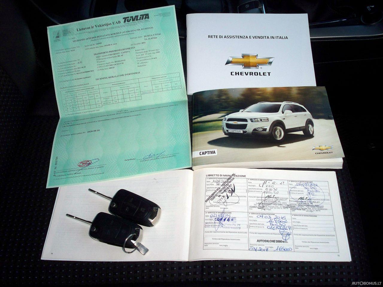 Chevrolet Captiva, Visureigis, 2011-12 | 22