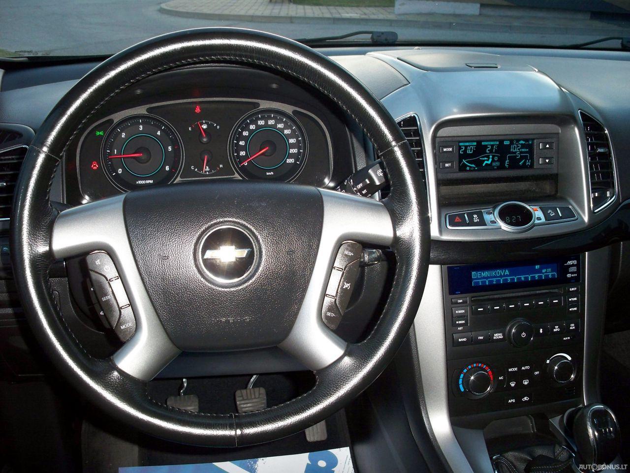 Chevrolet Captiva, Visureigis, 2011-12 | 18