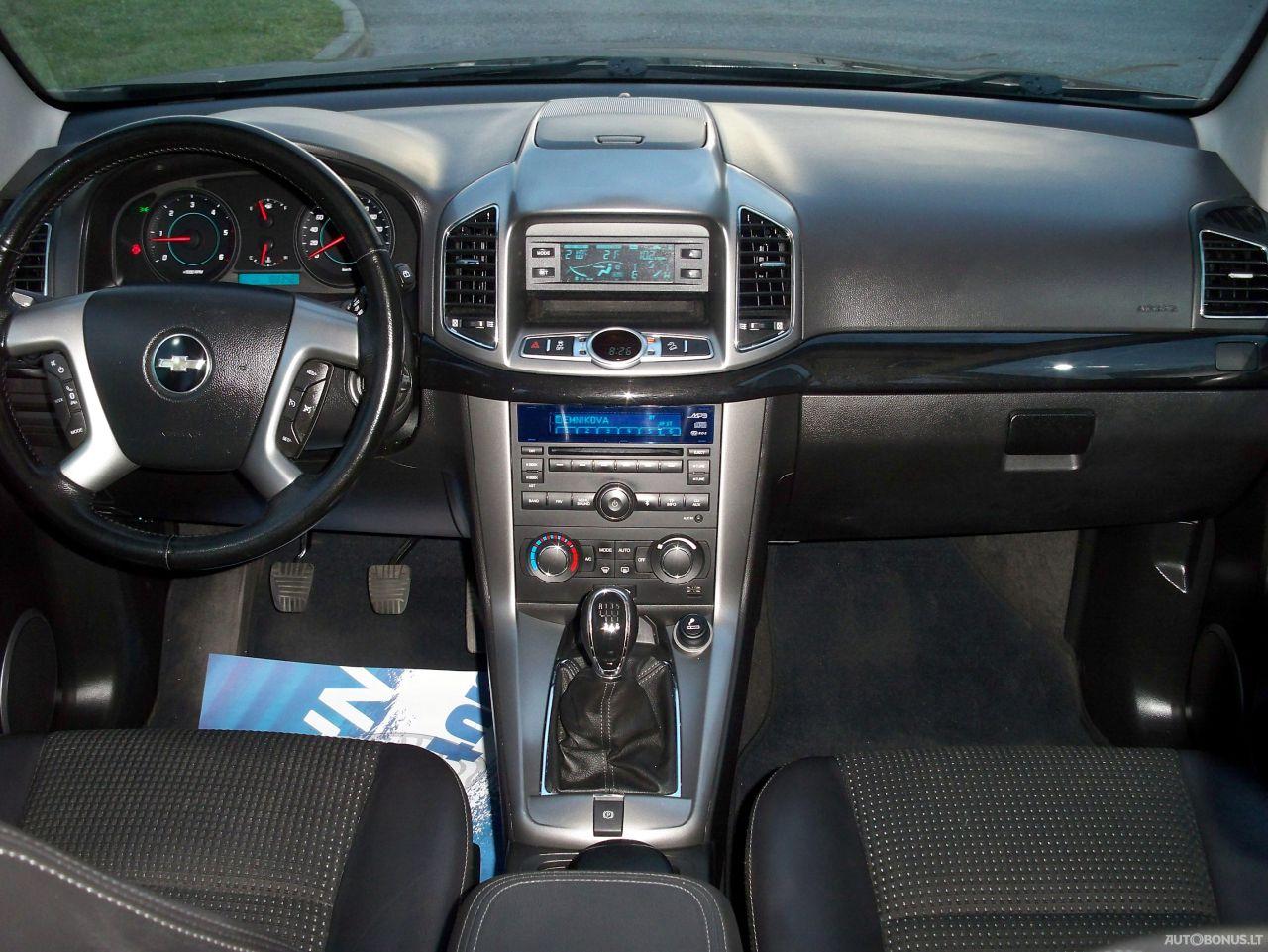 Chevrolet Captiva, Visureigis, 2011-12 | 17