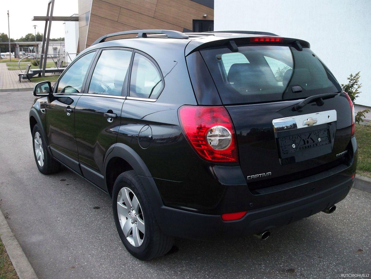 Chevrolet Captiva, Visureigis, 2011-12 | 2