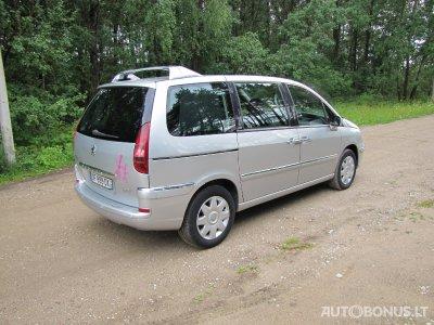 Peugeot 807, Vienatūris, 2009-06-13 | 3