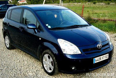 Toyota Corolla Verso, Vienatūris, 2007-07-15