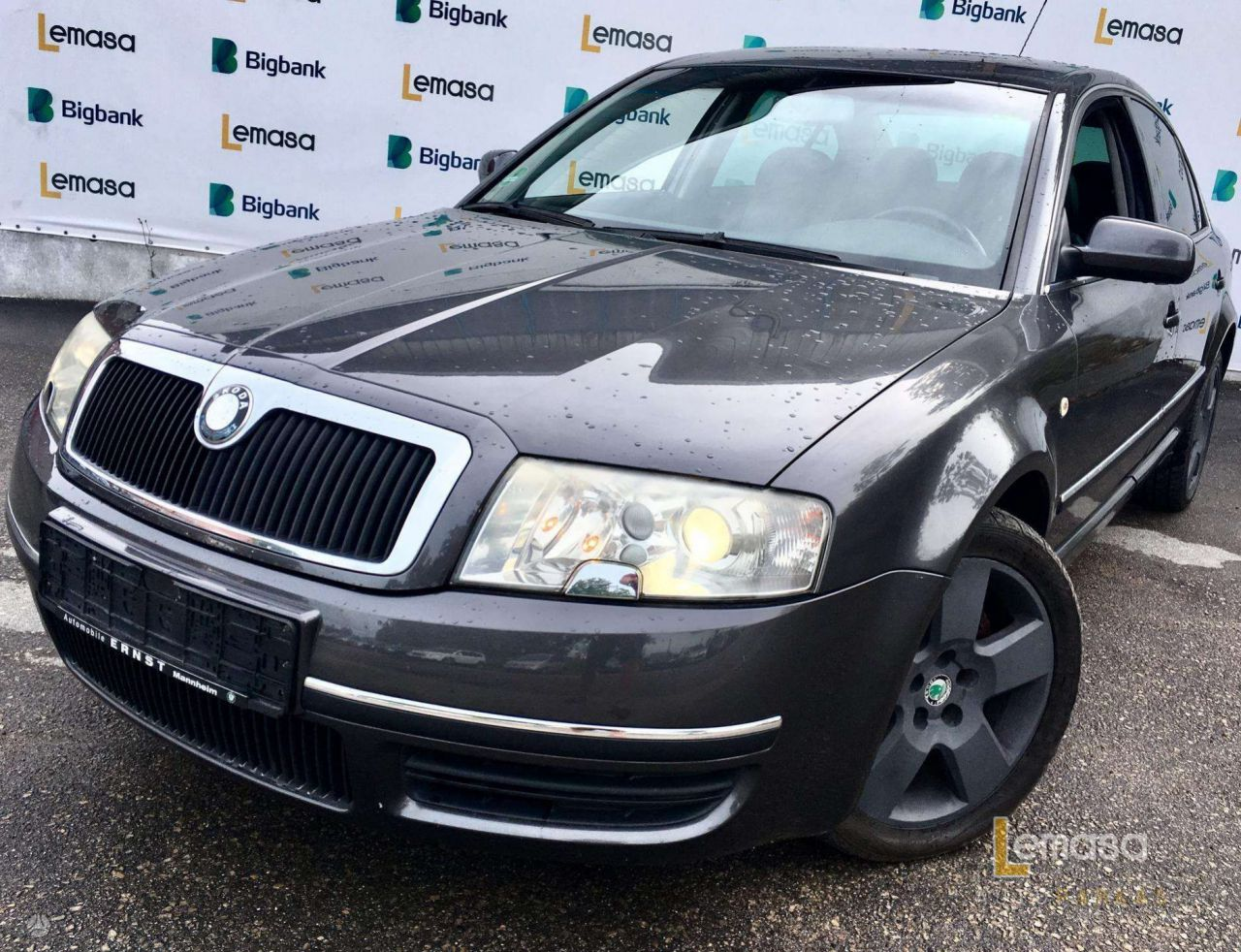 Skoda Superb, Sedanas, 2003