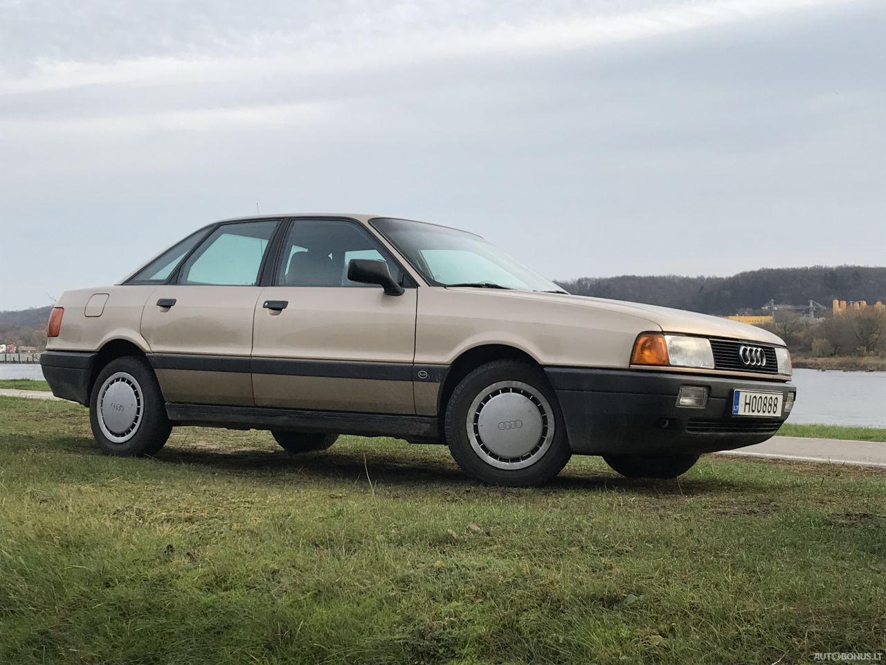 Audi 80, 1.8 l., sedanas