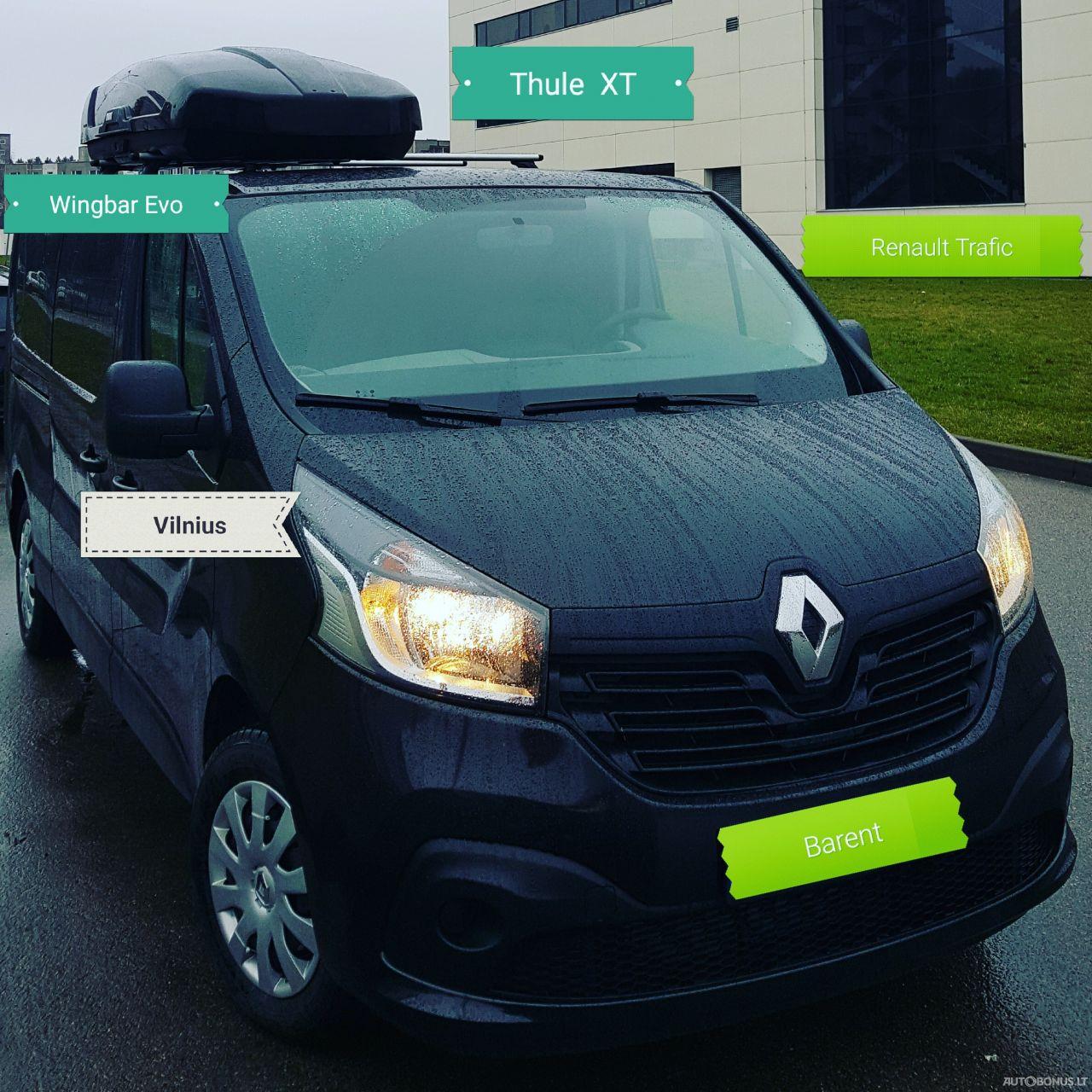 Renault Trafic, Vienatūris