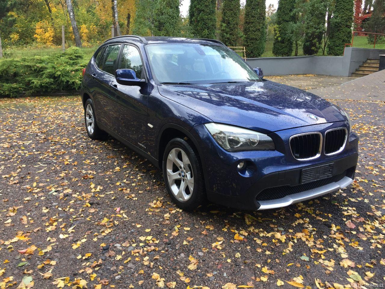 BMW X1, Visureigis