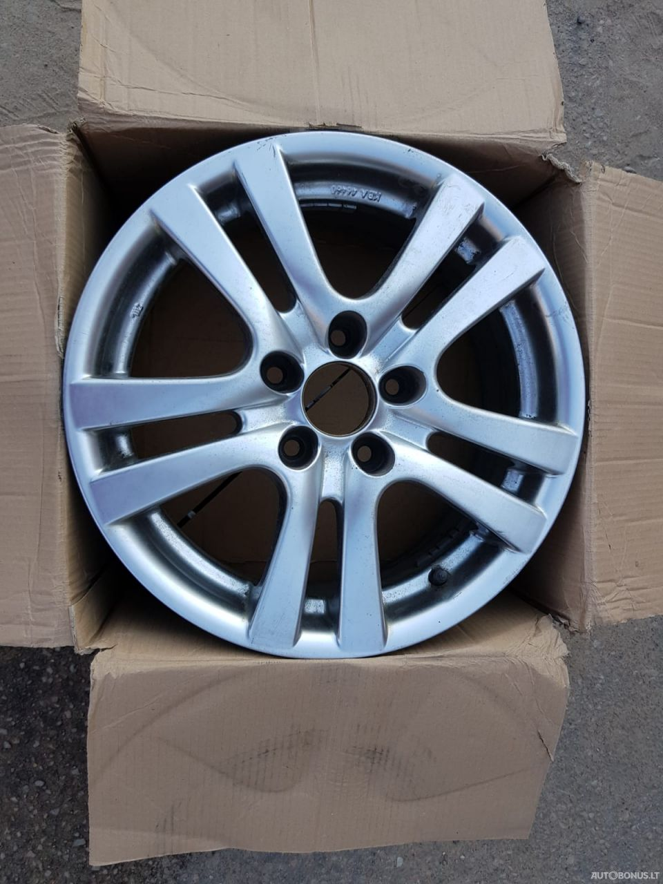 Light alloy rims