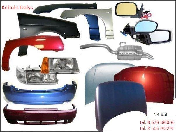 Lengvųjų automobilių dalys