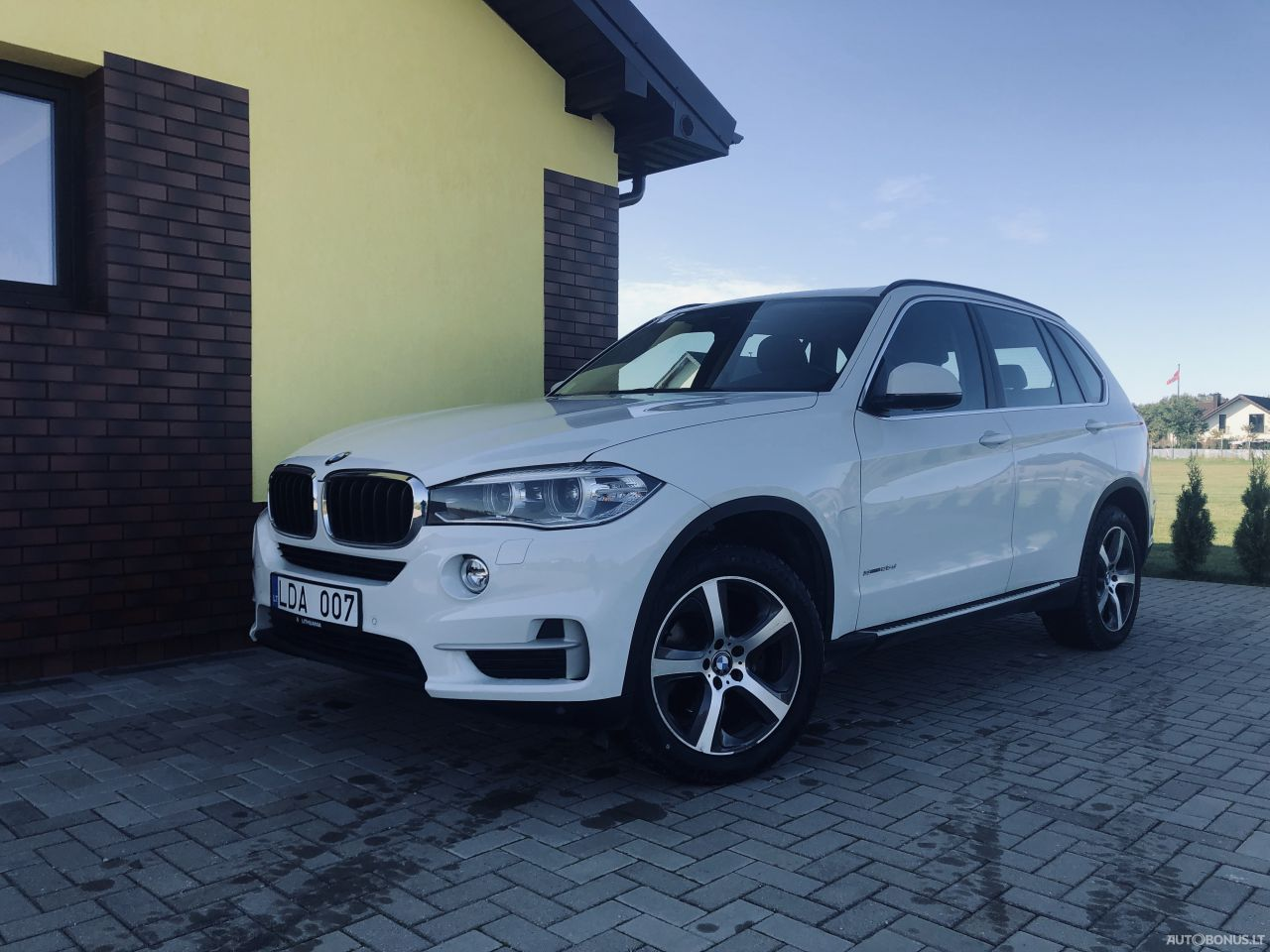 BMW X5, Cross-country