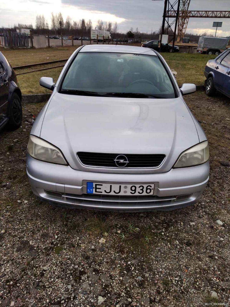 Opel Astra, 1.7 l., sedanas