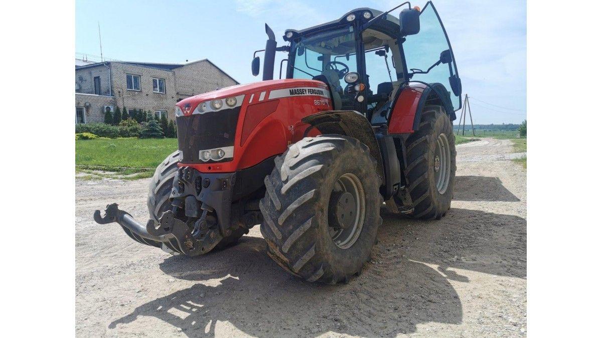Massey Ferguson 8670, Žemės ūkio technikos dalys