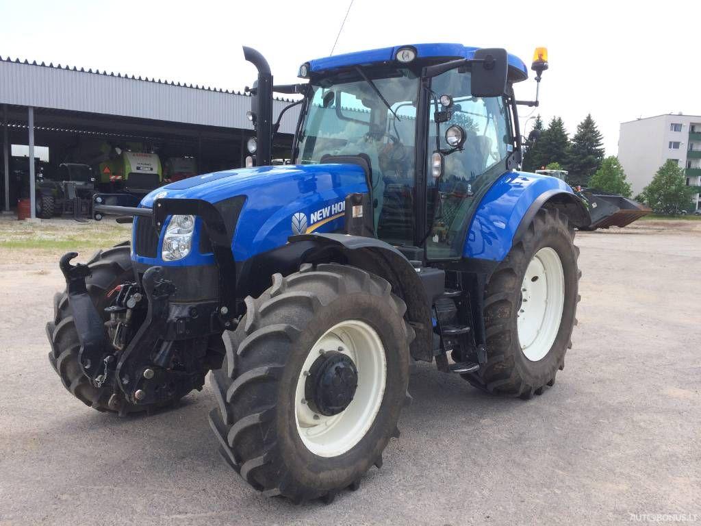 New Holland T 6.165, Žemės ūkio technikos dalys