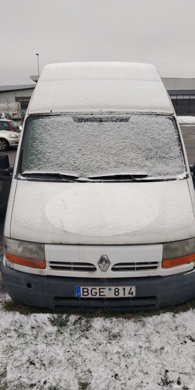 Renault Master, Krovininiai iki 3,5 t