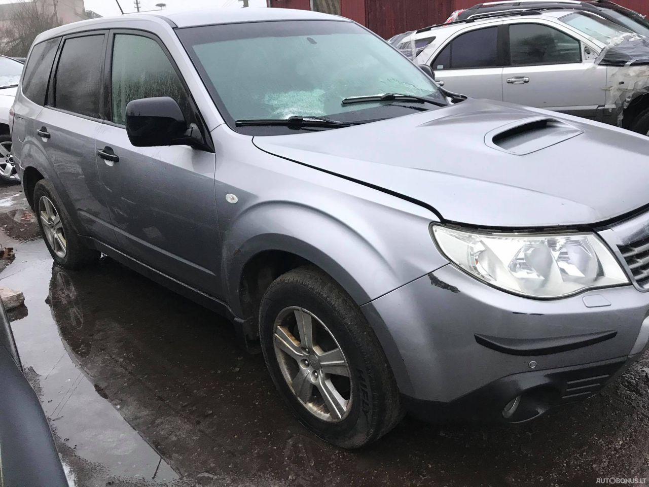 Subaru Forester, Cross-country