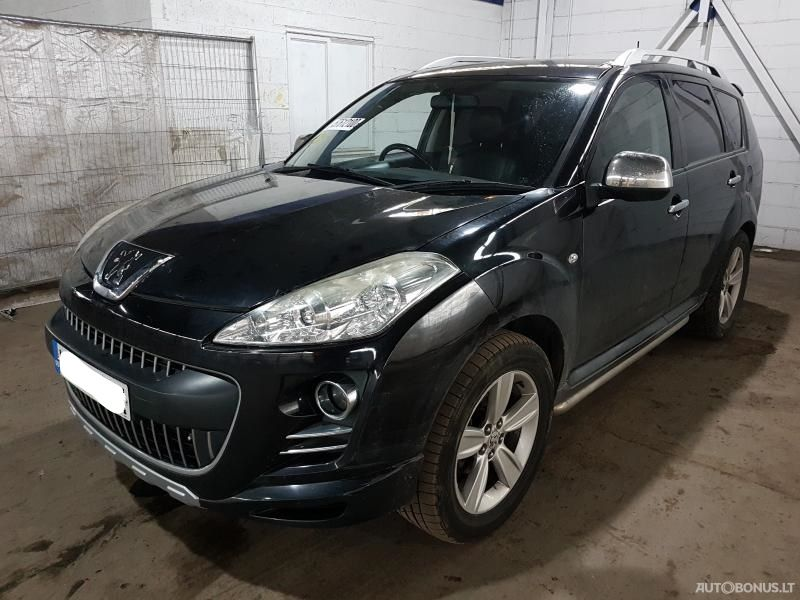 Peugeot 4007, Cross-country