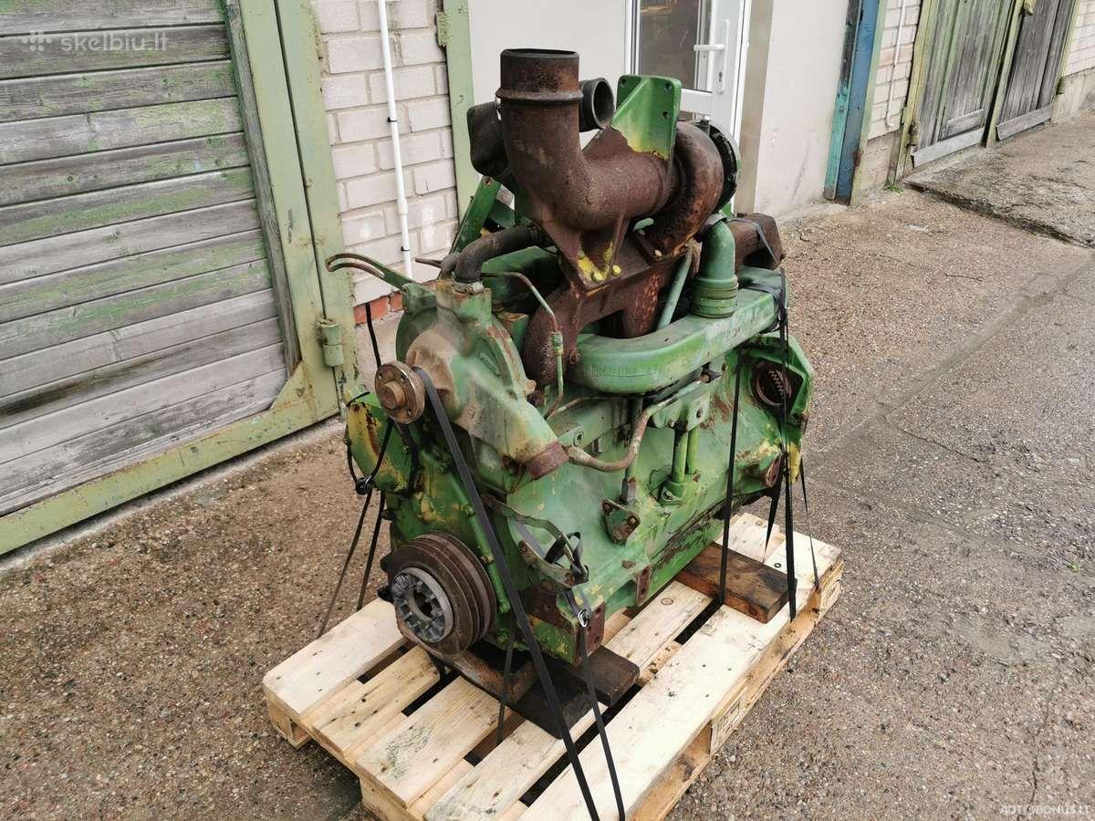 John Deere 6466tl-09, Žemės ūkio technikos dalys, John Deere 6466tl-09 variklis John Deere 4240s | 0