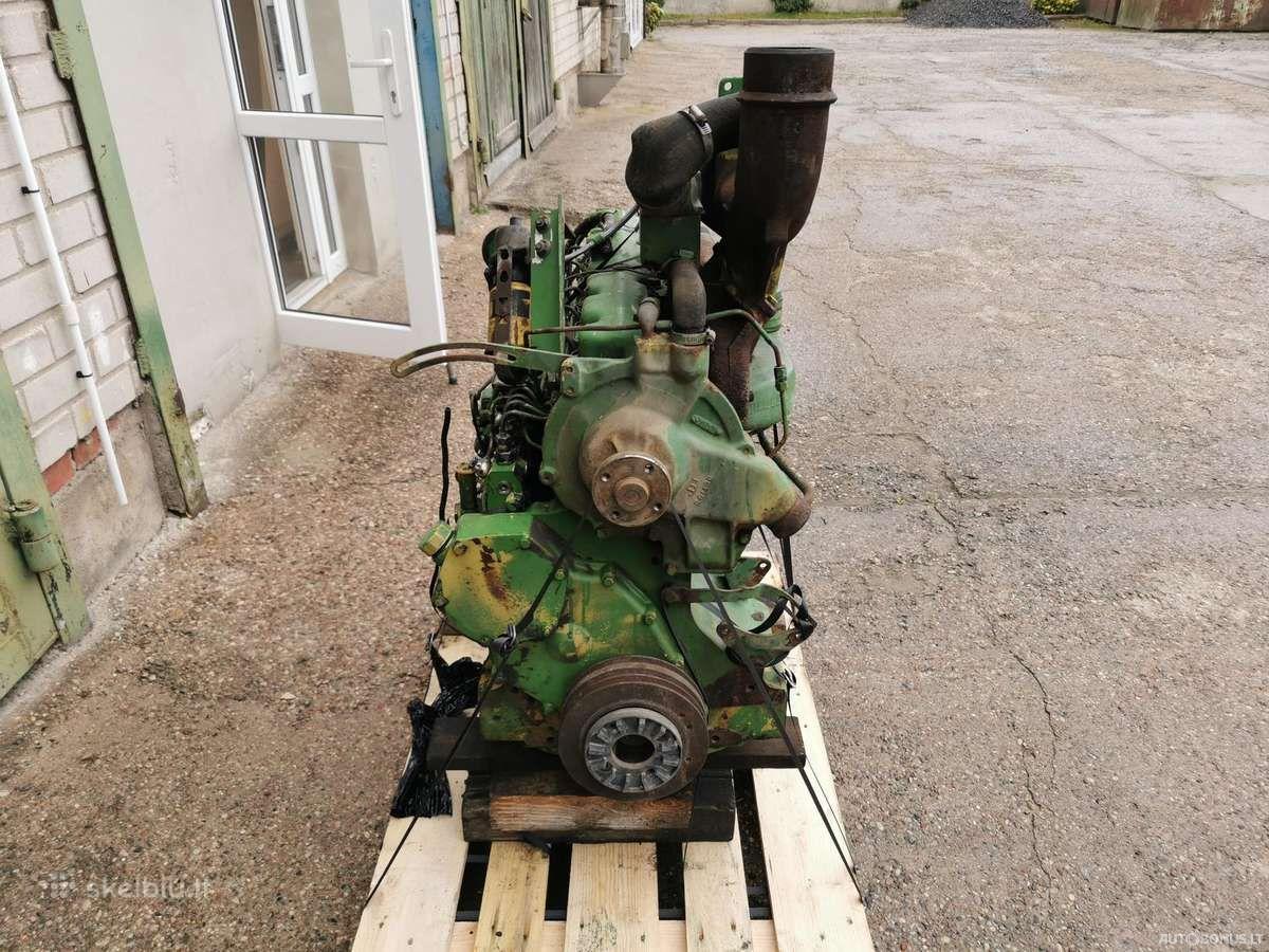 John Deere 6466tl-09, Žemės ūkio technikos dalys, John Deere 6466tl-09 variklis John Deere 4240s | 1
