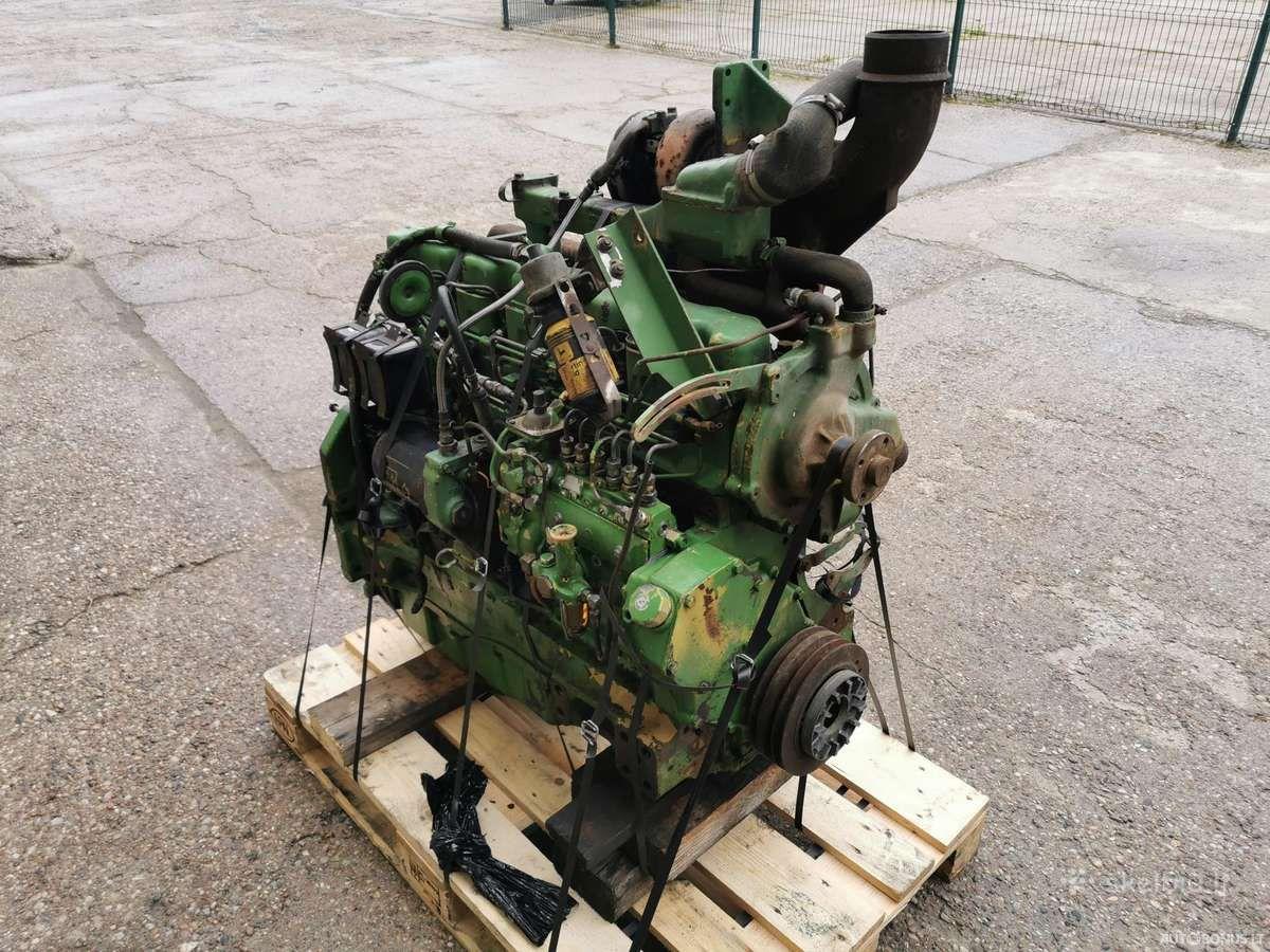 John Deere 6466tl-09, Žemės ūkio technikos dalys, John Deere 6466tl-09 variklis John Deere 4240s | 2