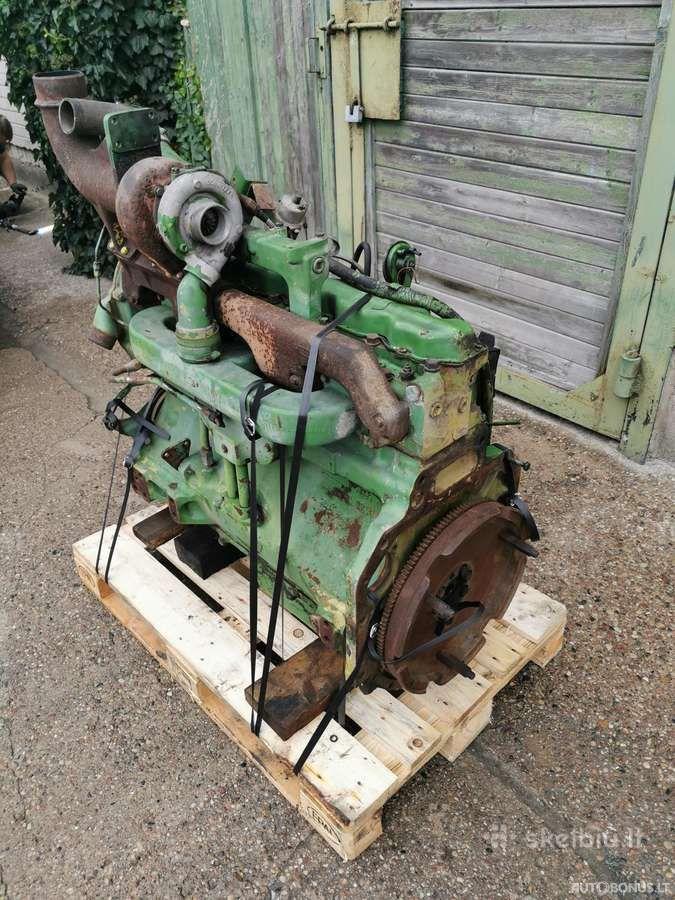 John Deere 6466tl-09, Žemės ūkio technikos dalys, John Deere 6466tl-09 variklis John Deere 4240s | 5