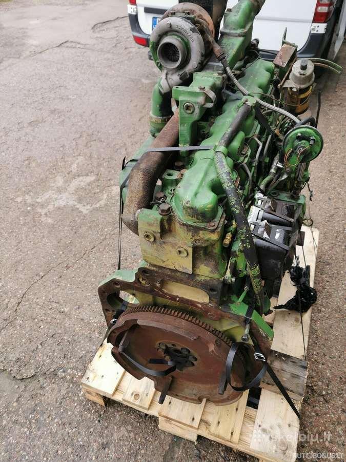 John Deere 6466tl-09, Žemės ūkio technikos dalys, John Deere 6466tl-09 variklis John Deere 4240s | 7
