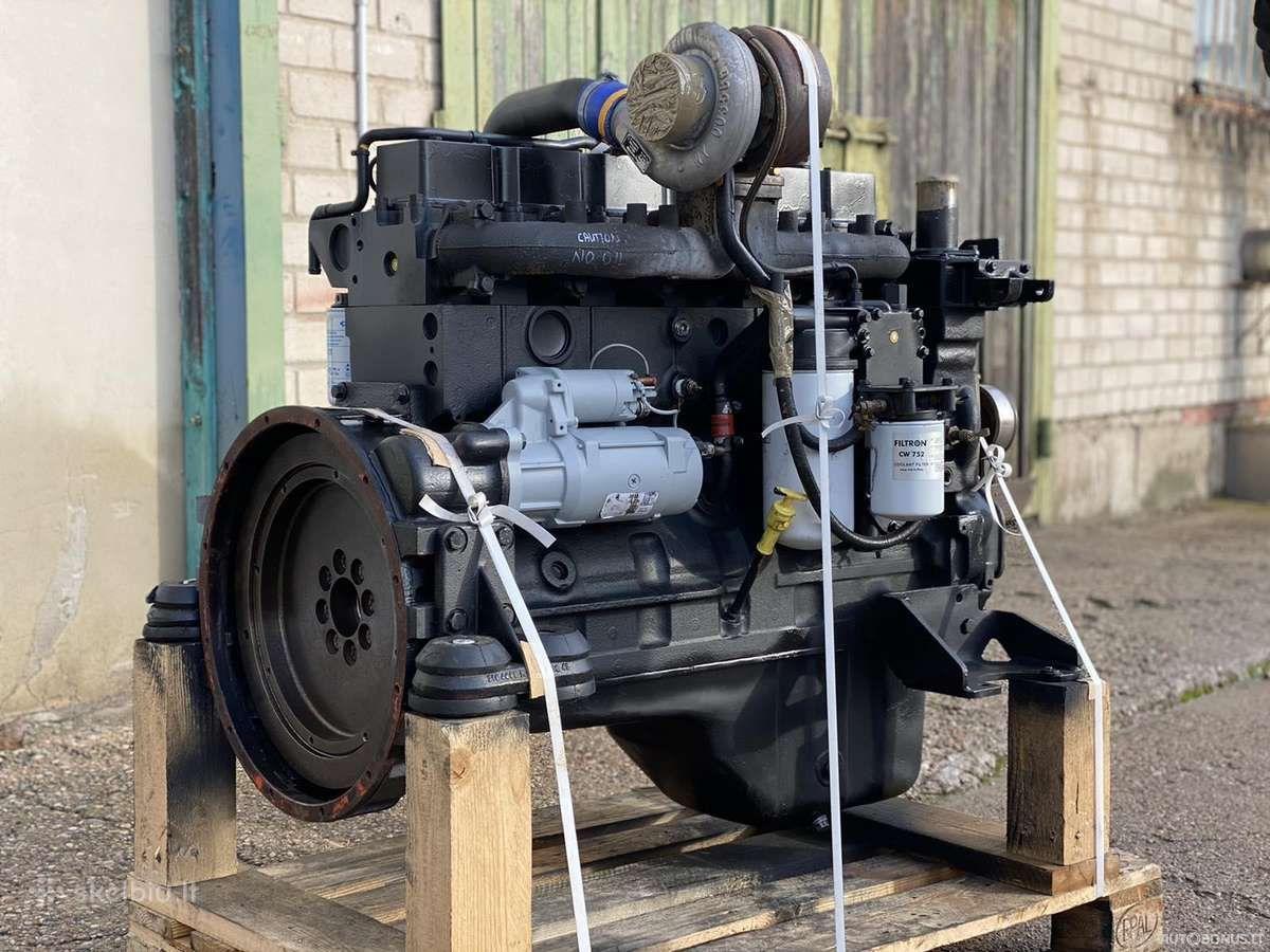Komatsu Komatsu varikliai, Žemės ūkio technikos dalys, Komatsu varikliai, Saa6d114e, D65ex, Pc270, Wa430