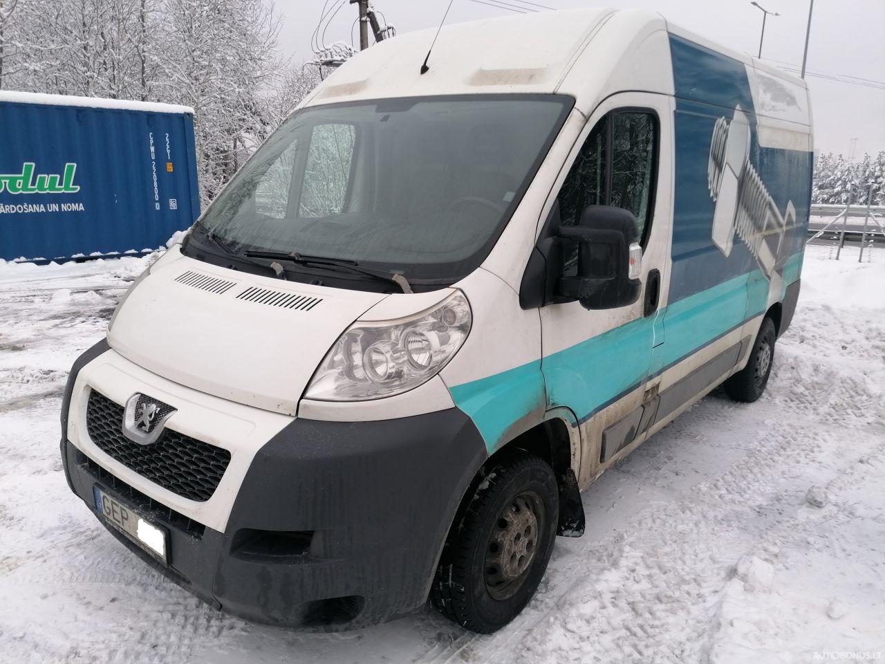 Peugeot BOXER, Krovininiai iki 3,5 t