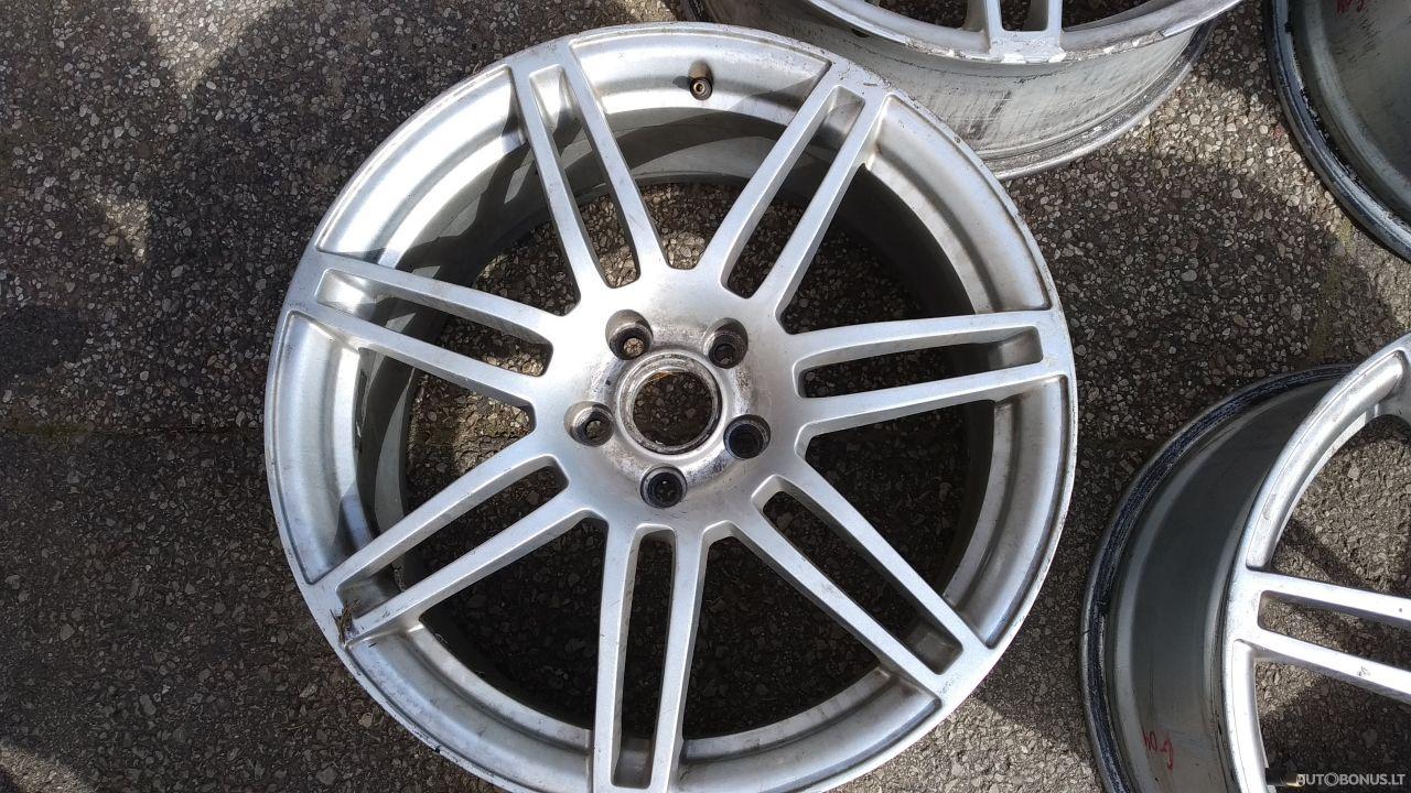 Audi lengvojo lydinio ratlankiai