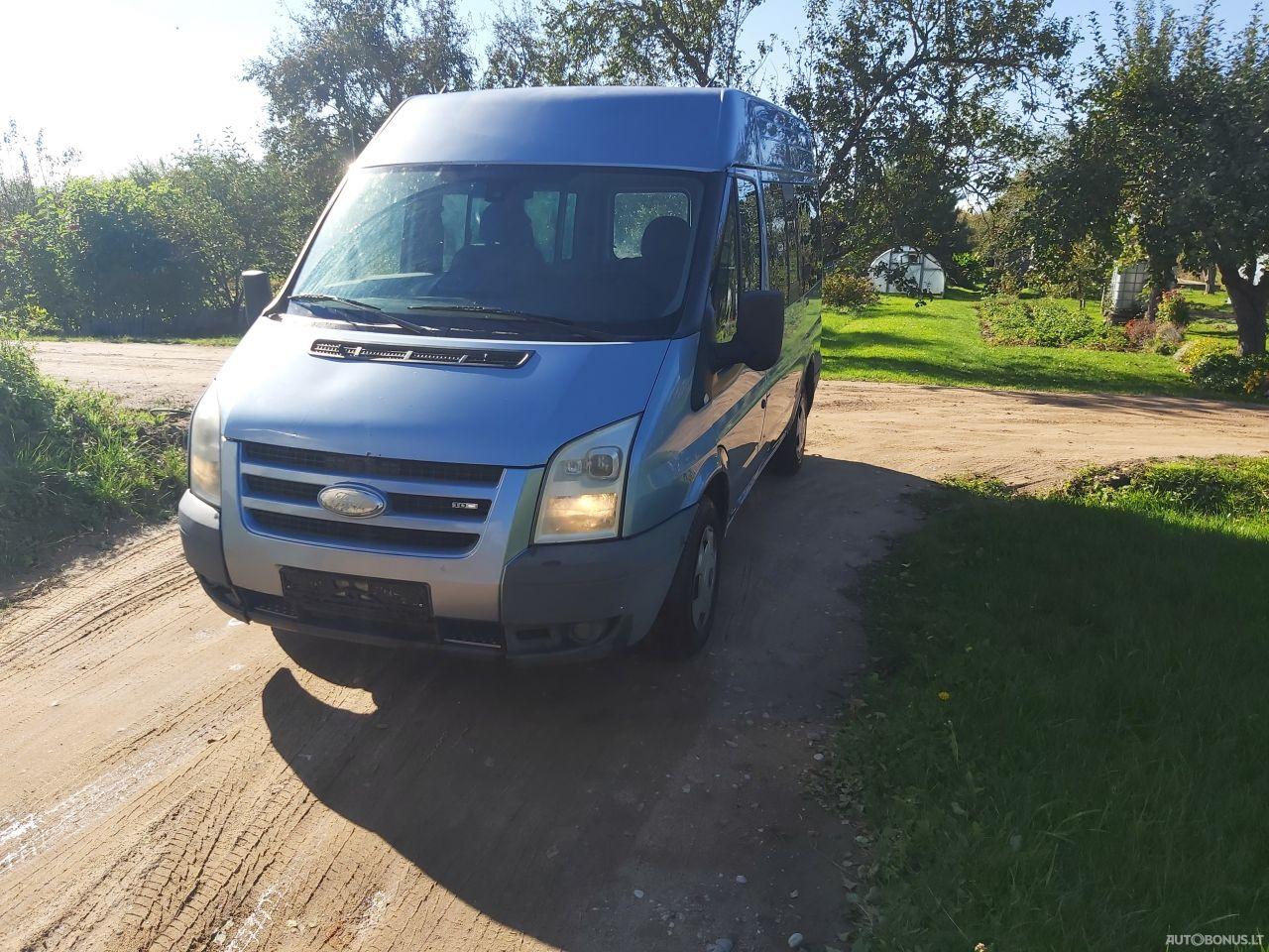 Ford Transit, Keleiviniai iki 3,5 t