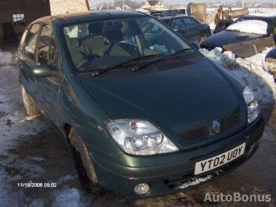 Renault Scenic, Минивэн, 2002