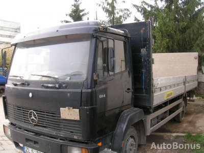 Mercedes-Benz 814, Bortinis, 1991-01