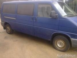 Volkswagen transporter krovininis 1998 Kaunas