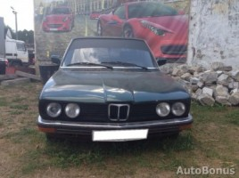 BMW 5 serija sedanas 1980,  Vilnius