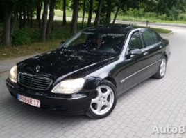 Mercedes-Benz S klasė sedanas 2002,  Vilnius