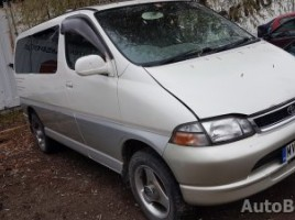 Toyota Hiace, Минивэн | 2