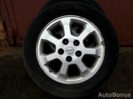 Opel Astra,Zafira light alloy rims | 1