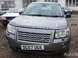 Land Rover Freelander, Visureigis | 2