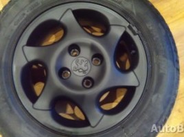 Peugeot lengvojo lydinio ratlankiai | 1