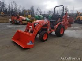 Kubota B26cI01 traktorius 2015,  Akmenė